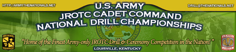 U.S. Army Cadet Command JROTC National Drill Championships